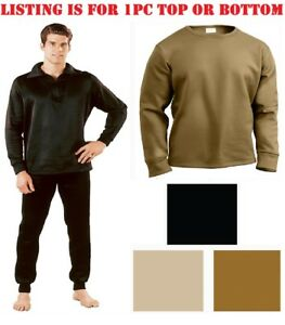 New Cold Weather Military Thermal Long Johns and Vest Shirt all sizes