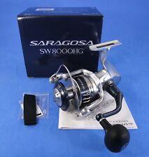 Shimano Saragosa SW 8000HG A Salzwasserrolle Spinnrolle