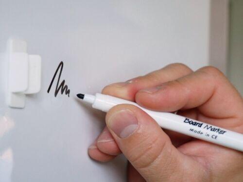 in weiß 0,6mm x 31cm x  31cm Whiteboardfolie Eisenfolie Ferrofolie beschreibbar