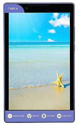 "Lenovo Tab 3 A8 8"" Quad Core 1 GHz 1GB Memory 16GB Storage Android Tablet R"