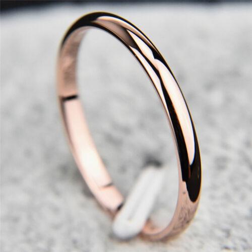 Titanium Steel Finger Ring Wedding Bridal Engagement Ring Women Trinket Jewelry/&