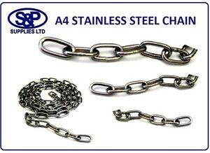 2mm-3mm-4mm-5mm-A4-316-Marine-Grade-Stainless-steel-Chain-Anti-Corrosion