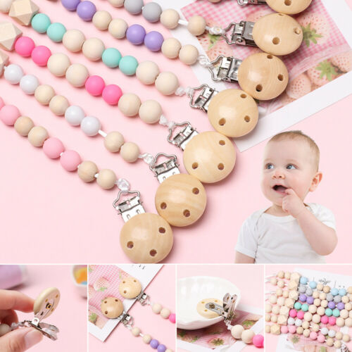 Pacifier Toys Sother Dummy Clips Holder der Nippel Baby Teething Kettenfüller