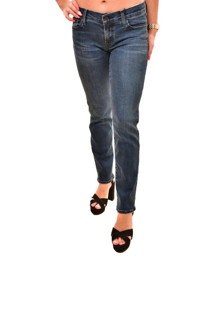 J BRAND Damen Elastische Low Rise Hipster Jeans Blau Größe 26    255 BCF88