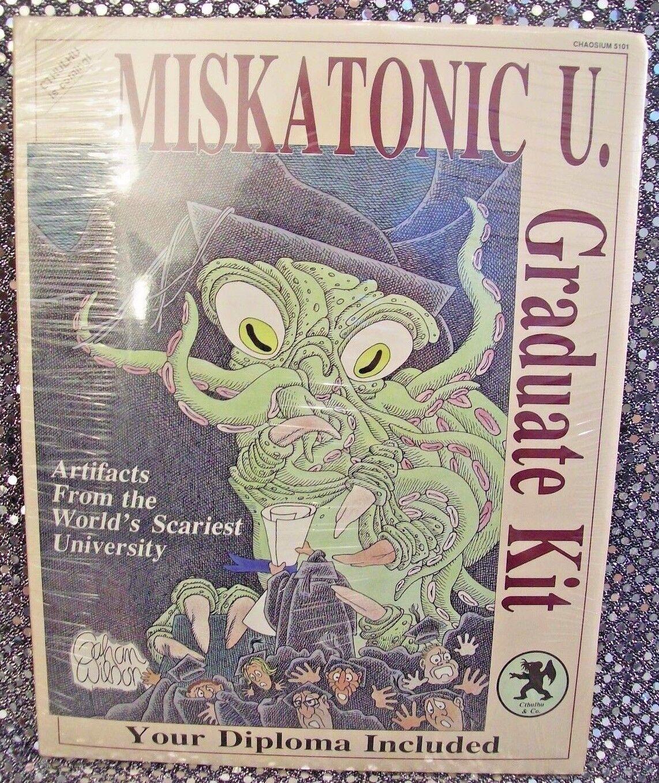 MISKATONIC U. GRADUATE KIT SEALED [1987] CHAOSIUM  5101~ H. P.LOVECRAFT NEW