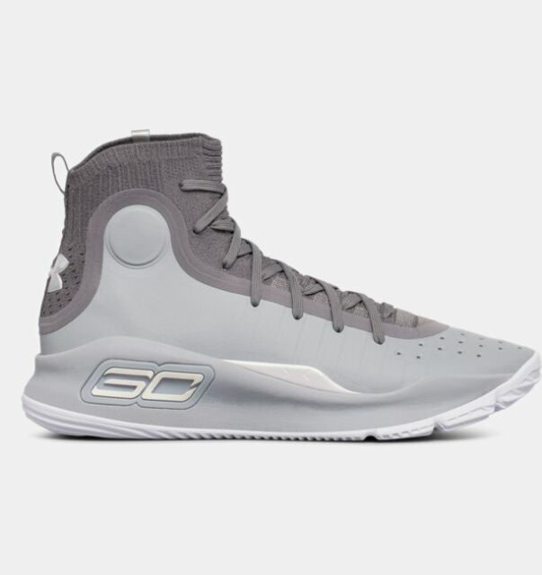 detailed look ace6e 28097 Under Armour Curry 4 Basketball SNEAKERS Dark Grey Silver Mens Size 10 NWOB