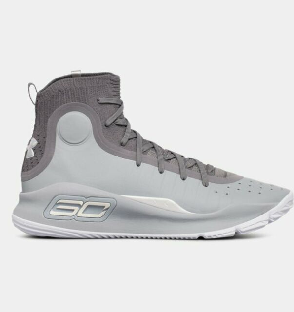 7ad9f32d2054 UA CURRY 4 BASKETBALL SHOES MENS SIZE 10 NEW 1298306-107 GRAY UNDER ARMOUR