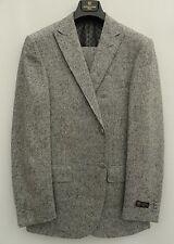 CORNELIANI Grey Wool Cashmere Tweed Suit IT50 UK/US40
