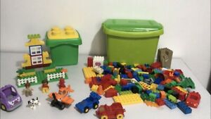Lego Duplo Bundle Buckets Bricks Toy Parts Pieces Job Lot kids Toys set