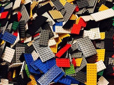 LEGO® 25 Platten verschiedene Größen u Farben Basic Platten kg Kiloware