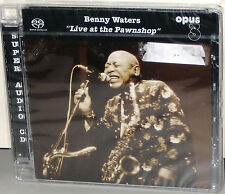 OPUS 3 Hybrid SACD 19911: Benny Waters - Live At The Pawnshop - 2005 GERMANY SS