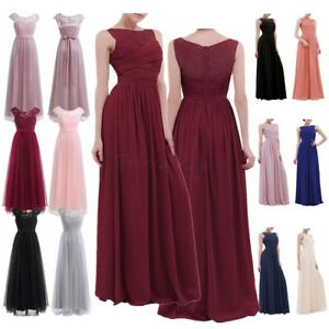 Women-Formal-Wedding-Long-Evening-Party-Bridesmaid-Dress-Prom-Ball-Gown-Cocktail