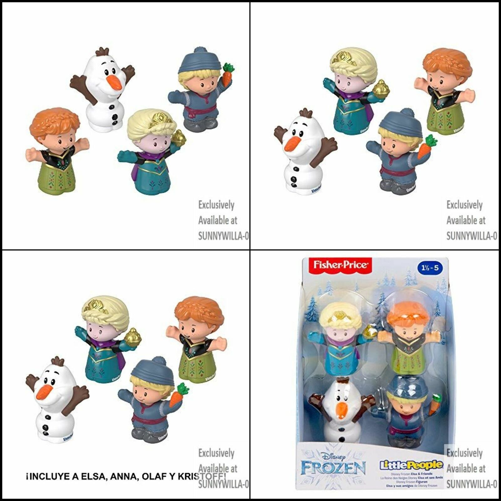 NEW! Fisher Price Little People Disney Frozen Olaf