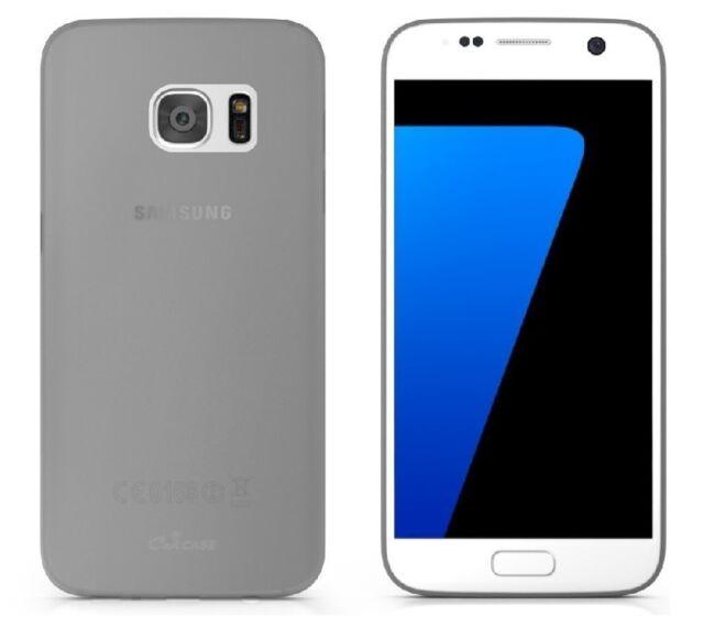 Custodia Cover Case slim per Samsung Galaxy S7 Edge G935 G935f in silicone nera