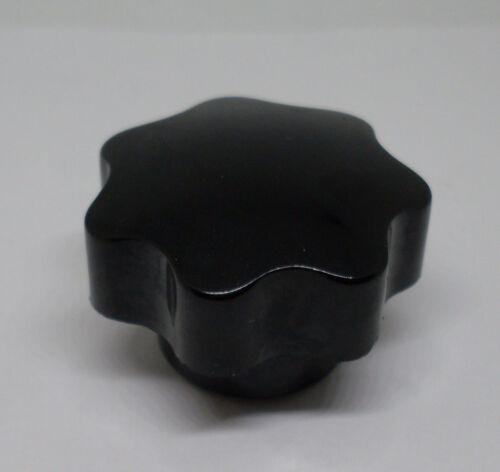 Neu Schrauben Knopf Sterngriffmutter M10 schwarz 39x27 mm Gewindetiefe 19 mm