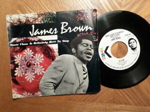Wlp-Promo-King-45-Registrazione-W-Ps-James-Brown-Santa-Claus-E-Definitely