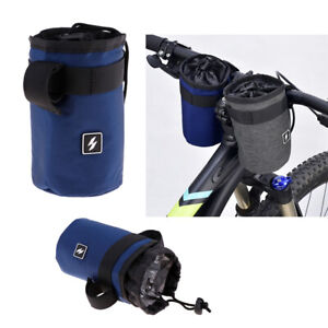 MagiDeal-2Pcs-Bicycle-Water-Bottle-Cage-Front-Handlebar-Hanging-Holder-Pouch