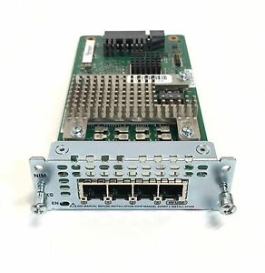 NIM-4FXS-Cisco-4-Port-Network-Interface-Module-FXS-FXS-E-and-DID-for-ISR