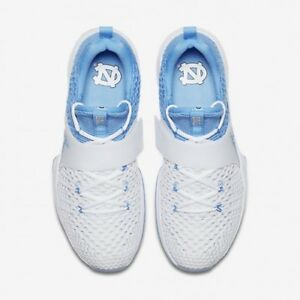 885d1fac1cc8 NIKE AIR JORDAN TRAINER UNC NORTH CAROLINA TAR HEELS MEN SIZE 8.5 ...