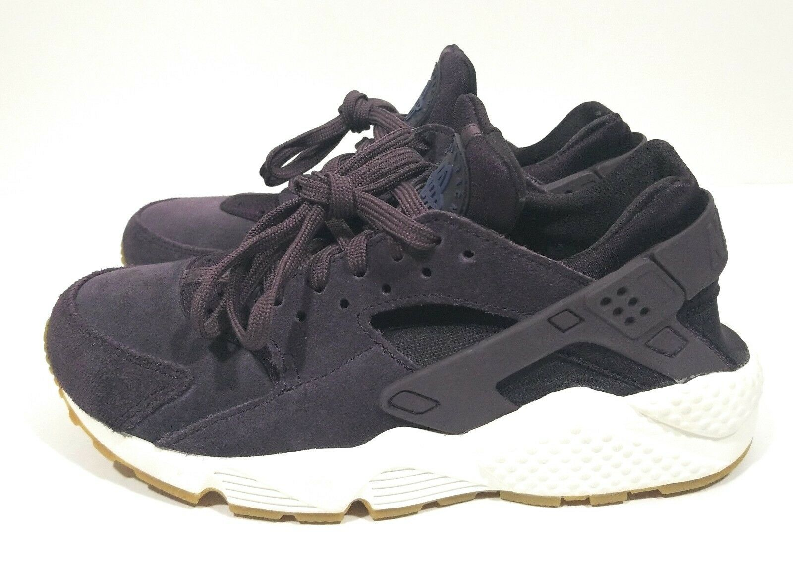 Nike Air Huarache Run SD Womens Running Training shoes Port Wine Size 7.5