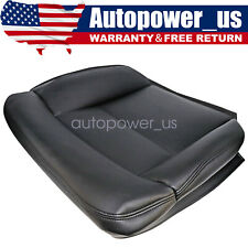 For 2004 2008 Ford F150 Lariat Stx Xl Xlt Driver Bottom Leather Seat Cover Black Fits More Than One Vehicle