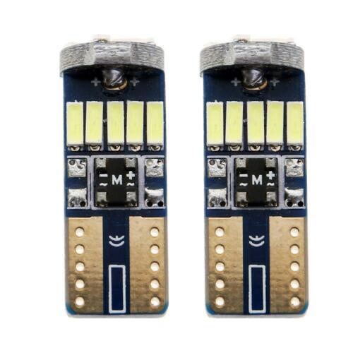 VODOOL 2ST T10 4014 15SMD LED Auto Breite Lichter Nummernschild Lampen für  Neu
