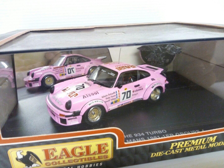 UNIVERSAL HOBBIES EAGLE 1 43 Porsche 934 turbo Le Mans 81 Denver  70 ITEM 2303