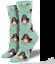 Womens Quality Socksmith Hound Dog design socks One Size Basset Hound lover gift