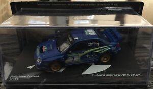 DIE-CAST-034-SUBARU-IMPREZA-WRC-RALLY-NEW-ZEALAND-2003-SOLBERG-MILLS-034-SCALA-1-43