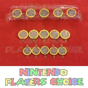 15X-Nintendo-NES-SNES-N64-GameBoy-Battery-CR2025-CR1616-CR2032-Tabs-Directions