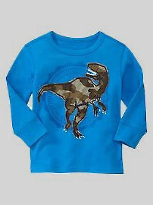 NEW GAP DINO TOP TEE SIZE 3T