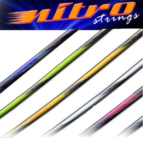 NITRO RECURVE ARCHERY BOW STRINGS TWIN COLOUR 8190