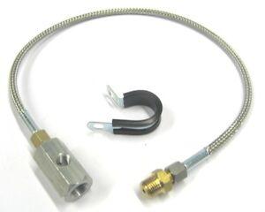 Remote-Oil-Pressure-Gauge-034-T-034-Piece-1-4-NPT-095-4