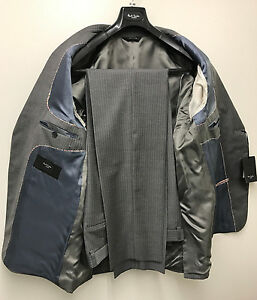 "Anzüge Kleidung & Accessoires Flight Tracker Paul Smith Suit ""london"" Westbourne Modern Fit Jacket 44r Trousers 38"" Rrp £725"