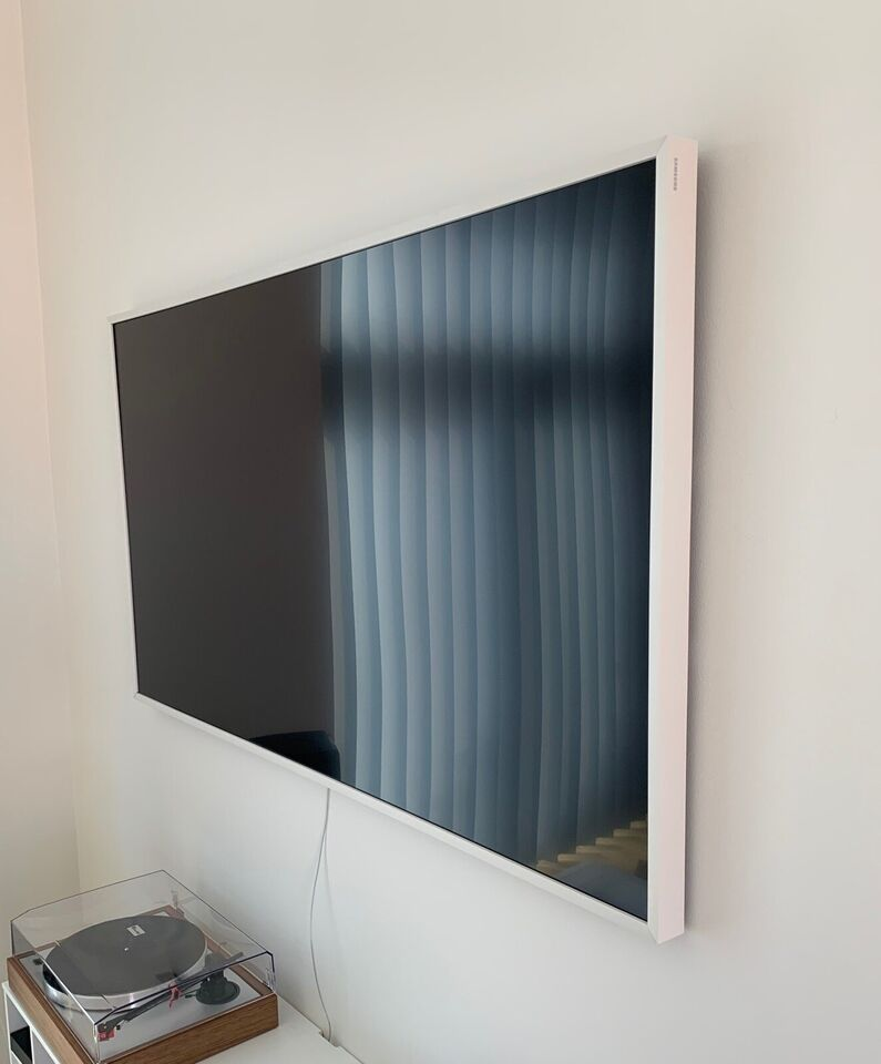"The Frame 65"" ramme hvid, Samsung, Perfekt"