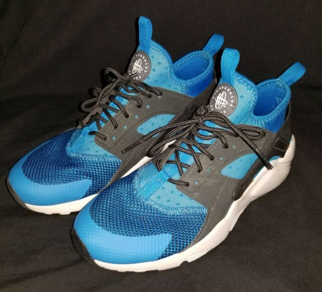 Nike Air Huarache Run Ultra GS 847569 416 Boys Trainers Blue