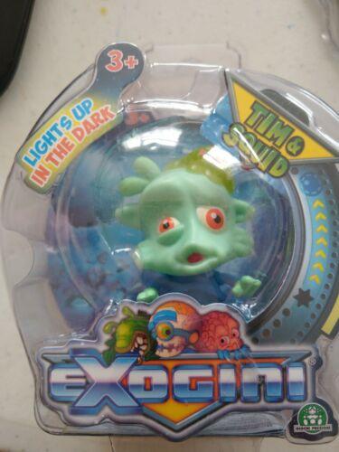 5 x Exogini Alien figures BLINKIN OCTAVIOUS slim Tim /& calmar RANGER Danger