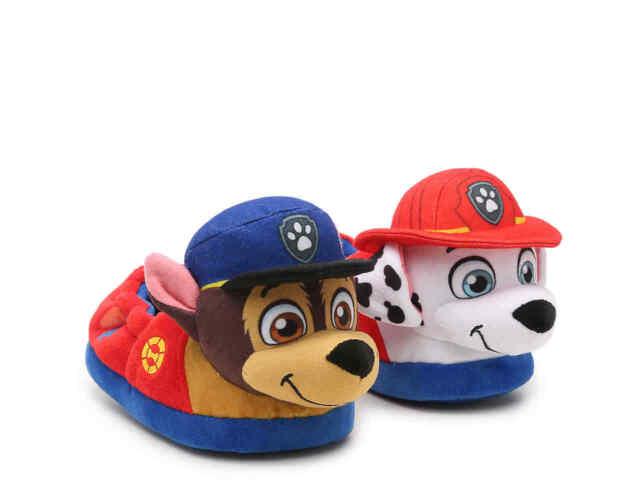 paw patrol slippers toddler boy m 78xl 1112 chase