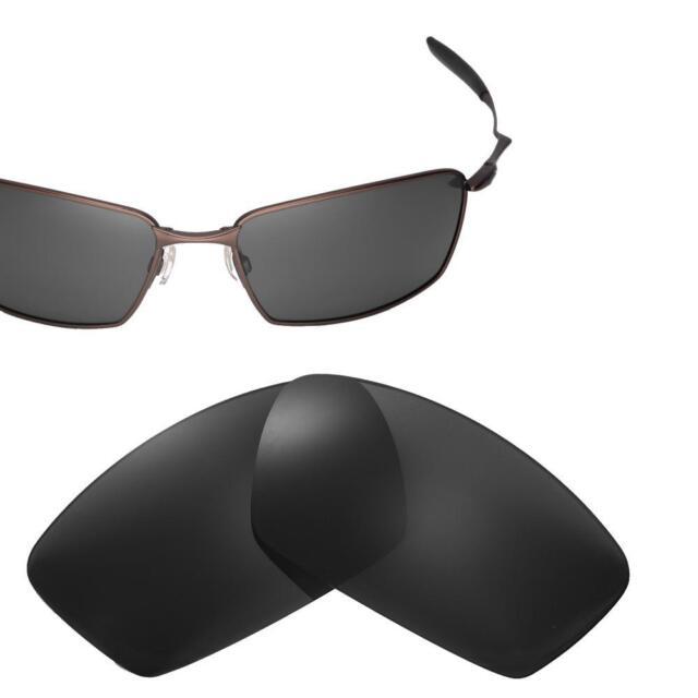 fb37ab53b0 Cofery Polarized Black Lenses for Oakley Square Whisker Sunglasses ...