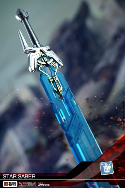 New Transformers DR DW-TP08 Skybreaker Sword In Stock Wu