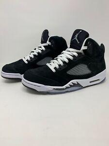 Nike Air Jordan 5 Retro Black Suede