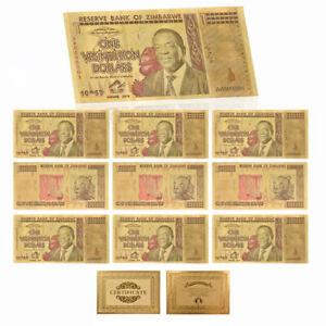 WR-10pcs-Zimbabwe-1-Vigintillion-Dollars-Color-Gold-Banknote-Collection-Gift