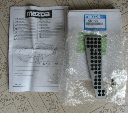 MAZDA MX5 MK2 MK2.5 Aluminium Repose-Pieds Reste Pied Cover Trim NC89V8210 Genuine