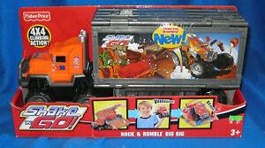 FISHER-PRICE-SHAKE-N-GO-ROCK-amp-RUMBLE-BIG-RIG-NEW