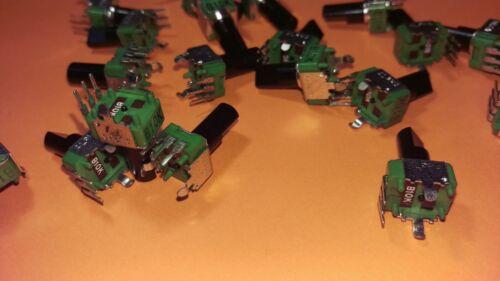 20x Trimmer 10 kOhm 12x10mm con 11mm eje