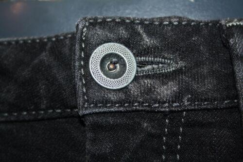 Fumé Jeans Jambe Taille Mavi droite Basse Lavé Neuf Dublin 189 Noir 10 Olivia 9eE2IHYWD