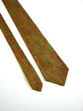 LANVIN Paris Cravatat Tie VINTAGE 80  Originale 100% SETA SILK