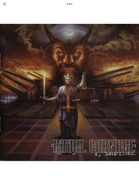 RITUAL CARNAGE I NFIDEL New Compact Disc Cd