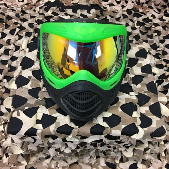 New Dye Axis Paintball Mask Goggle Lime For Sale Online