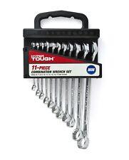 Hyper Tough 11 Piece Combination Wrench Set Metric
